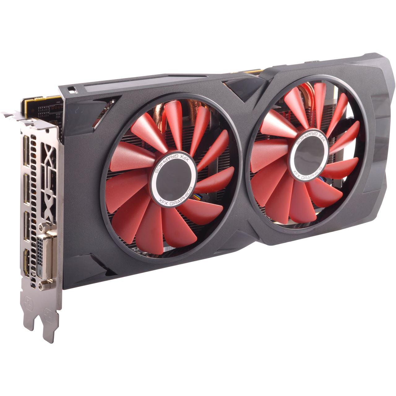 4GB XFX Radeon RX 570 Black Edition Aktiv PCIe 3.0 x16 ...