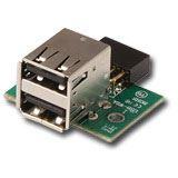 Lindy USB 2.0 Mainboard Adapter Pinheaderbuchse auf 2x USB A F