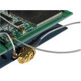(€21,80*/1m) 0.50m Lindy BNC Anschlusskabel RP-SMA Stecker auf Mini HF Grau