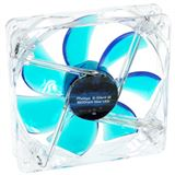 Phobya G-Silent 12 LED 120x120x25mm 1500-1950 U/min 20-29,9 dB(A) blau/transparent