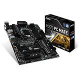 MSI H270 PC MATE Intel H270 So.1151 Dual Channel DDR4 ATX Retail
