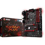 MSI Z270 GAMING PLUS Intel Z270 So.1151 Dual Channel DDR4 ATX Retail