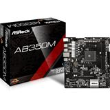 ASRock AB350M AMD B350 So.AM4 Dual Channel DDR4 mATX Retail