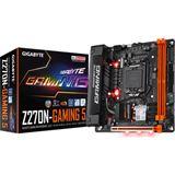 Gigabyte GA-Z270N-Gaming 5 Intel Z270 So.1151 Dual Channel DDR4 Mini-ITX Retail