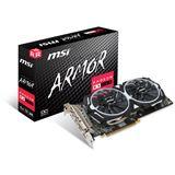 4GB MSI Radeon RX 580 Armor 4G OC Aktiv PCIe 3.0 x16 (Retail)