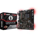 MSI A320M GRENADE AMD A320 So.AM4 Dual Channel DDR4 mATX Retail