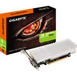 2GB Gigabyte GeForce GT 1030 Silent Low Profile 2G Passiv PCIe 3.0 x16 (x8) (Retail)