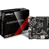ASRock A320M-DGS AMD A320 So.AM4 Dual Channel DDR mATX Retail
