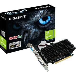 1GB Gigabyte GeForce GT 710 GDDR3 Passiv PCIe 2.0 x16 (Retail)