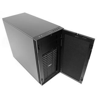 Fractal Design Define R5 PCGH-Edition gedämmt Midi Tower ohne Netzteil schwarz