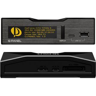 Palit G-Panel U1000 & USB3.0 Hub für VGA-Monitoring Retail
