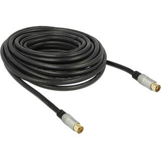 DeLOCK Kabel IEC Stecker > IEC Buchse RG-6/U quad shield 10