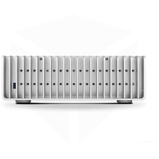 Streacom FC10 Alpha Optical Desktop ohne Netzteil silber
