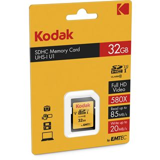 32 GB Kodak EKMSD32GHC10K SDHC Class 10 Retail