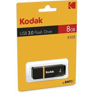 8 GB Kodak K103 schwarz/gelb USB 3.0
