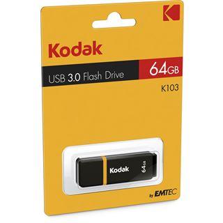 64 GB Kodak K103 schwarz/gelb USB 3.0