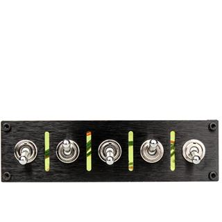 Lamptron Hummer Military Style Switch Panel schwarz
