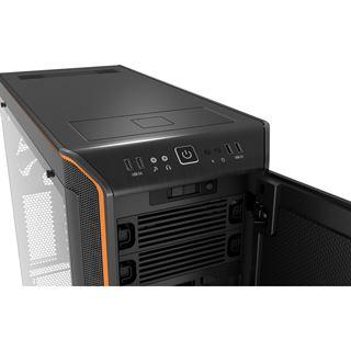 be quiet! Dark Base Pro 900 gedämmt mit Sichtfenster Big Tower ohne Netzteil schwarz/orange
