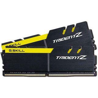 32GB G.Skill Trident Z schwarz/gelb DDR4-3200 DIMM CL15 Dual Kit