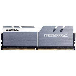 32GB G.Skill Trident Z silber/weiß DDR4-3200 DIMM CL15 Dual Kit