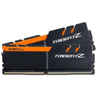 16GB G.Skill Trident Z schwarz/orange DDR4-3200 DIMM CL14 Dual Kit