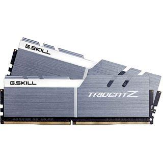 32GB G.Skill Trident Z silber/weiß DDR4-3333 DIMM CL16 Dual Kit