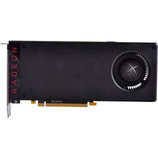 8GB XFX Radeon RX 480 Black Edition OC Backplate Aktiv PCIe 3.0 x16 (Retail)