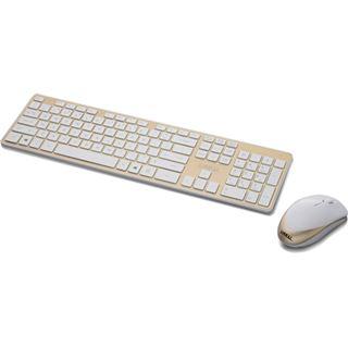 Lian Li TerminAl KM01-WGD Deutsch USB weiß/gold