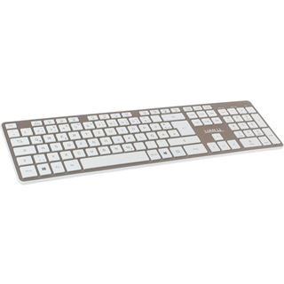 Lian Li TerminAl KB01 USB und Bluetooth Deutsch gold (kabellos)