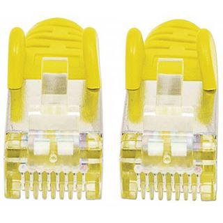 (€1,30*/1m) 3.00m Intellinet Cat. 5e Patchkabel SF/UTP RJ45 Stecker auf RJ45 Stecker Gelb