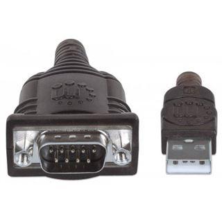 Manhattan USB Adapter A -> seriell (RS-232) St Modul 0,45m