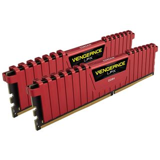 16GB Corsair Vengeance LPX rot DDR4-3200 DIMM CL14 Dual Kit