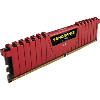 32GB Corsair Vengeance LPX rot DDR4-2400 DIMM CL14 Dual Kit