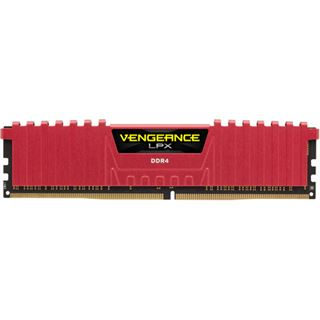 16GB Corsair Vengeance LPX rot DDR4-3866 DIMM CL18 Quad Kit
