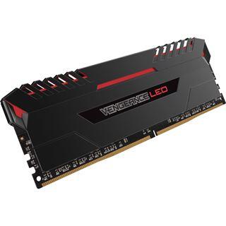 32GB Corsair Vengeance LED rot DDR4-3000 DIMM CL15 Dual Kit