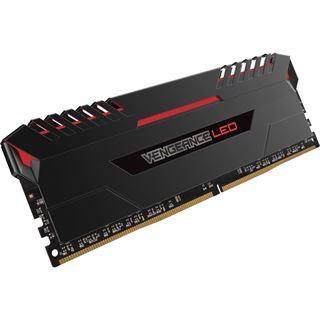 32GB Corsair Vengeance LED rot DDR4-3400 DIMM CL16 Quad Kit