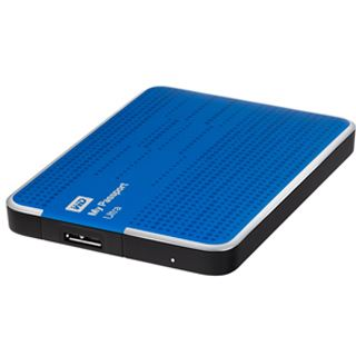 "1000GB WD My Passport Ultra Exclusive Edition WDBCFF0010BBL-EESN 2.5"" (6.4cm) USB 3.0 blau"