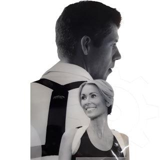 Swedish Posture Rückentrainer Flexi - M-L weiß