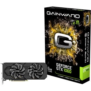 6GB Gainward GeForce GTX 1060 Aktiv PCIe 3.0 x16 (Retail)