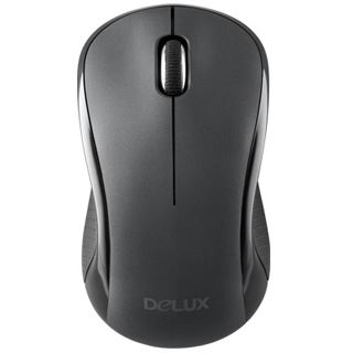 Delux OM-06G + Maus M391GX Wireless Desktop schwarz retail