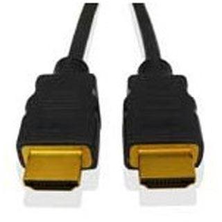 1.80m Fujitsu HDMI1.3 Adapterkabel HDMI-Stecker auf DVI 18+1 Stecker Schwarz