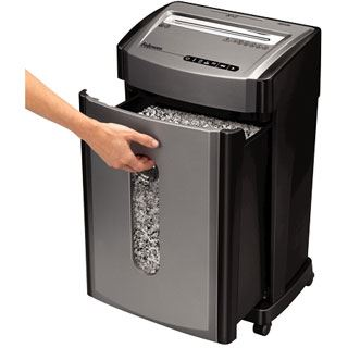 Fellowes GmbH Aktenvernichter Powershred 46Ms Partikel 2 x 14 mm