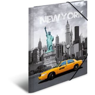 "HERMA Eckspannermappe ""Trendmetropolen New York"" PP A3"