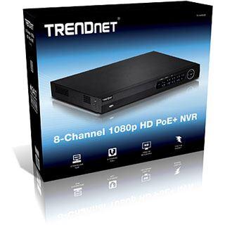 Trendnet 8 Channel 1080P HD POE NVR