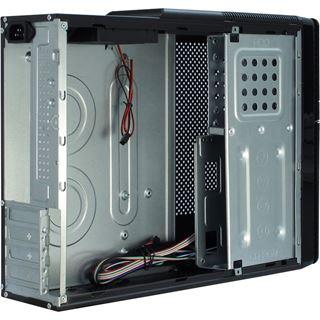 Inter-Tech IT-607 Desktop ohne Netzteil schwarz