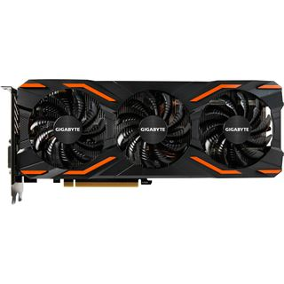 8GB Gigabyte GeForce GTX 1080 Windforce 3X OC Aktiv PCIe 3.0 x16 (Retail)