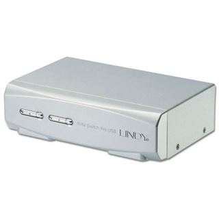 Lindy Dual Link KVM Switch Pro Audio USB 2P. DVI-I/USB 2.0/Audio