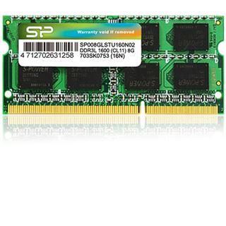 8GB Silicon Power SP008GLSTU160N02 DDR3L-1600 SO-DIMM CL11 Single