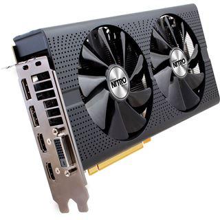 4GB Sapphire Radeon RX 480 Nitro+ Aktiv PCIe 3.0 x16 (Lite Retail)