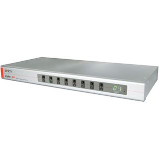 Lindy KVM Switch Combo 8 mit KVM-IP 8 USB-PS/2-VGA Server P.